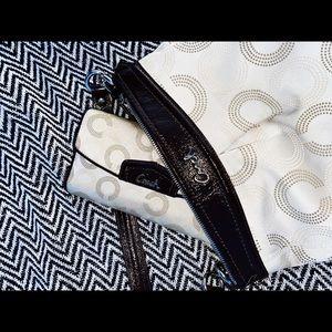 Designer Coach purse and wallet